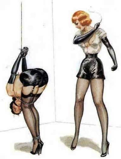 Domina Woman With Whip